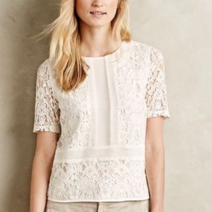 Anthropologie Sunday in Brooklyn Ellis Lace Top